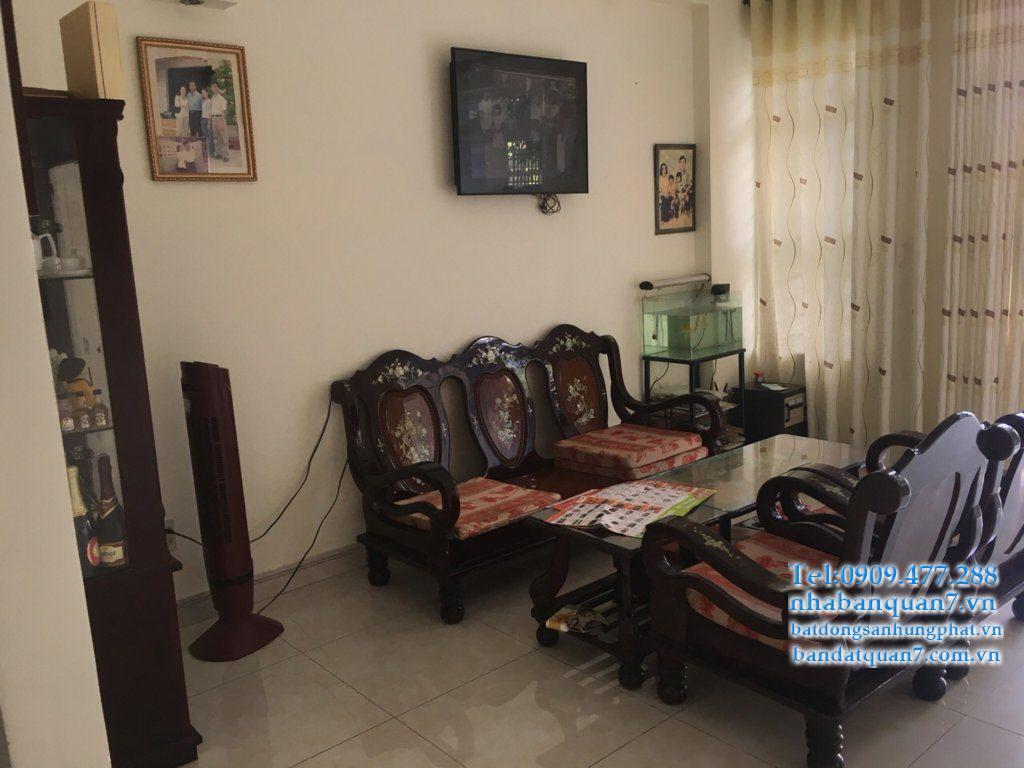 Chính chủ cho thuê nhà quận 7 khu Kiều Đàm