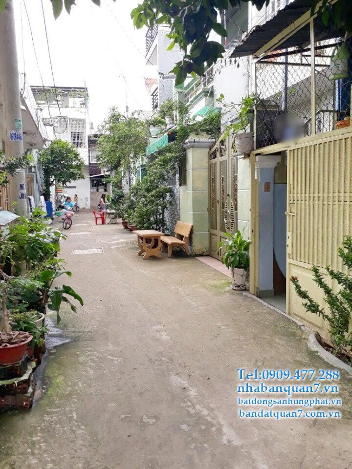 Nhà bán hẻm 1041 Trần Xuân Soạn q7