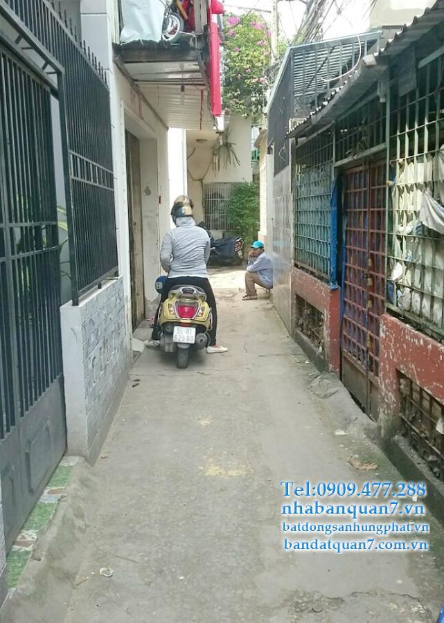 bán gấp căn nhà hẻm 997 Trần Xuân Soạn